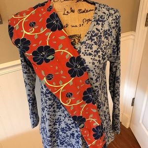 Lularoe outfit: medium Lynnae & OS leggings EUC